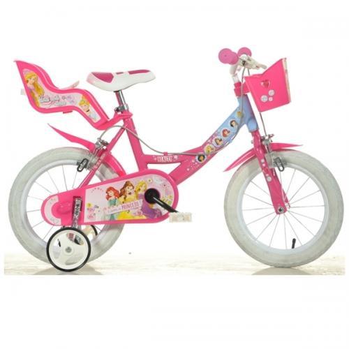 Bicicleta Princess 16 - Dino Bikes - Plimbare bebe - Bicicleta copii