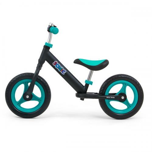Bicicleta usoara din aluminiu - fara pedale - Sonic Mint - Plimbare bebe - Bicicleta copii