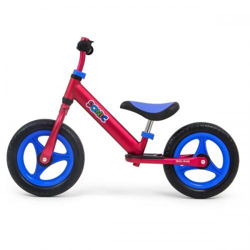 Bicicleta usoara din aluminiu - fara pedale - Sonic Red - Plimbare bebe - Bicicleta copii
