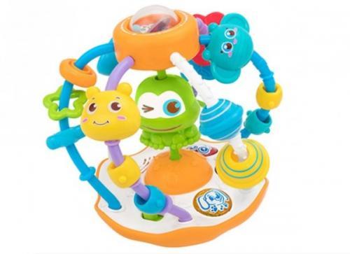 Bila cu activitati Globo pentru copii multicolor cu lumini si sunete - Jucarii copilasi - Toys creative