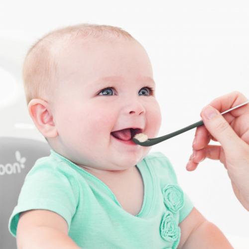BOON - set SWAP lingurita 2-in-1 gri+teal - Hrana bebelusi - Accesorii alimentare