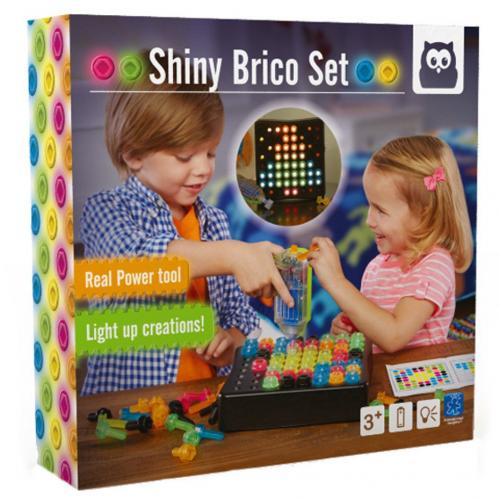Bormasina magica - Set reflectorizant de construit - Jucarii copilasi - Toys creative