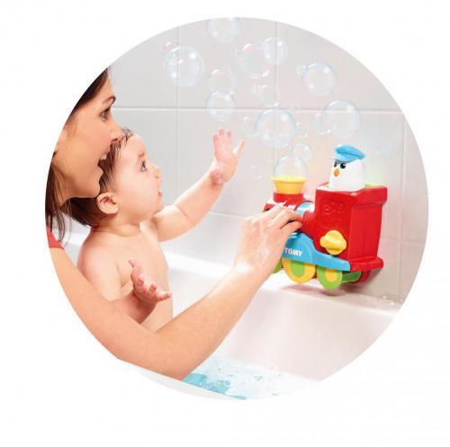 Bubble blast train - Jucarii bebelusi -