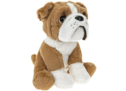 Bulldog 16 cm - Jucarii copilasi - Jucarii din plus