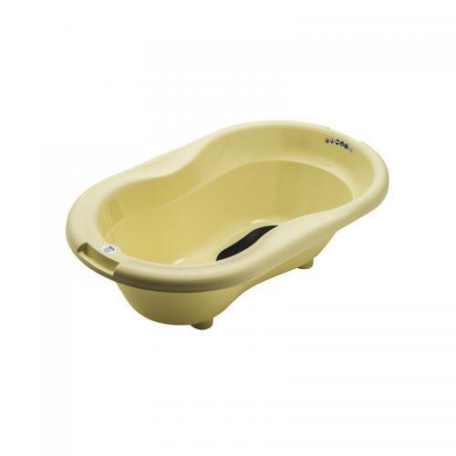 Cadita cu covoras antiderapant TOP Yellow delight Rotho-babydesign - Igiena ingrijire - Cadita bebe