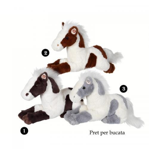 Cal cu pete - jucarie din plus cu sunet 35 cm - Jucarii copilasi - Jucarii din plus