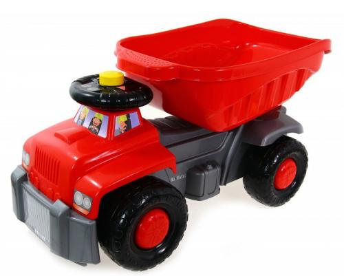 Camion basculant Carrier red - Plimbare bebe - Masinute fara pedale