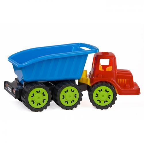 Camion pentru copii marmat s - cabina rosie - Jucarii copilasi - Avioane jucarie