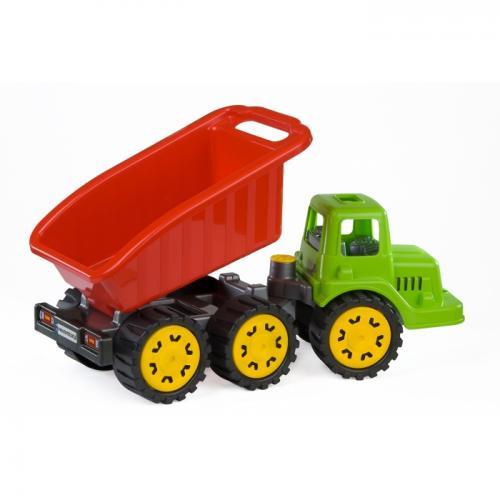 Camion pentru copii marmat s - cabina verde - Jucarii copilasi - Avioane jucarie