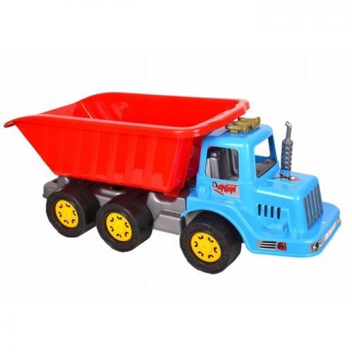 Camion pentru copii marmat xl - cabina albastra - Jucarii copilasi - Avioane jucarie