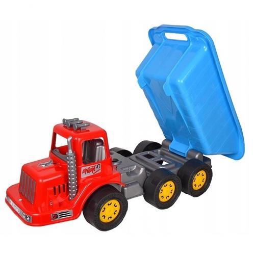 Camion pentru copii marmat xl - cabina rosie - Jucarii copilasi - Avioane jucarie