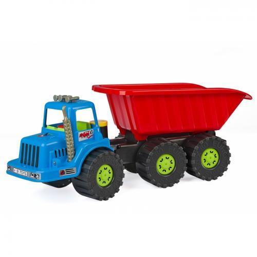 Camion pentru copii marmat xxl - cabina albastra - Jucarii copilasi - Avioane jucarie