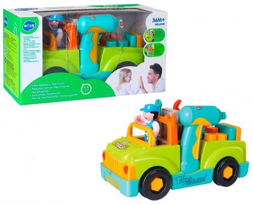 Camionul plin cu scule al micului mecanic cu lumini si sunete - Jucarii copilasi - Avioane jucarie