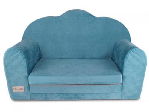 Canapea extensibila Catifea Klups Albastru Marin V111 - Camera bebelusului - Leagane si balansoare