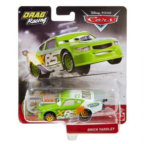 Cars xrs masinuta metalica de curse personajul brick yardley - Jucarii copilasi - Avioane jucarie