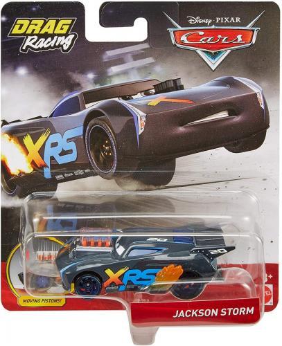 Cars xrs masinuta metalica de curse personajul jackson storm - Jucarii copilasi - Avioane jucarie