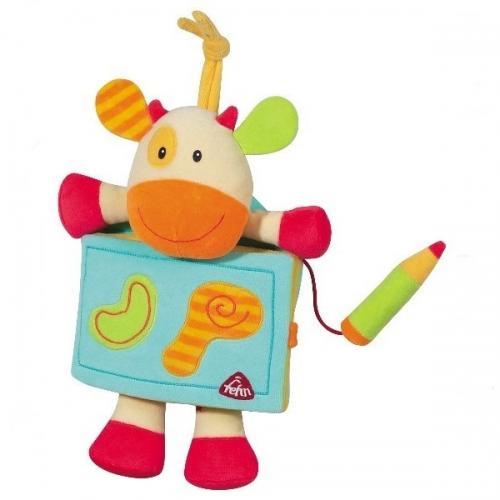 Carte - Album Vacuta - Brevi Soft Toys - Jucarii bebelusi -