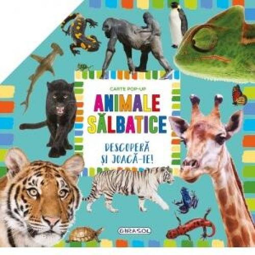 Carte pop-up - animale salbatice - Carti  -