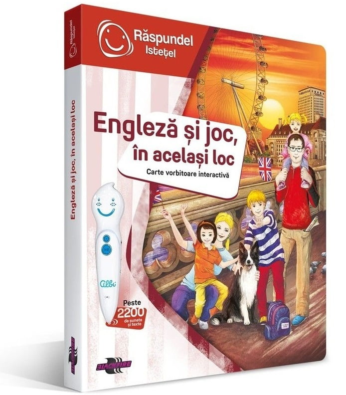 carte raspundel engleza si joc