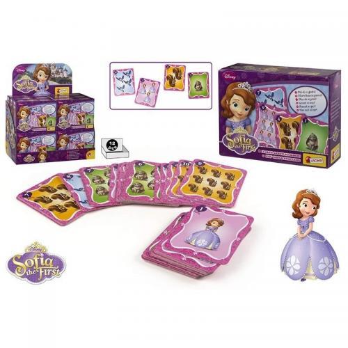 Carti de joc mari Sofia Intai - Jocuri pentru copii - Jocuri societate