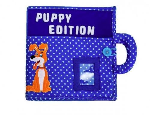 Carticica cu activitati Piqipi - Quiet book Puppy Edition - Carti  -