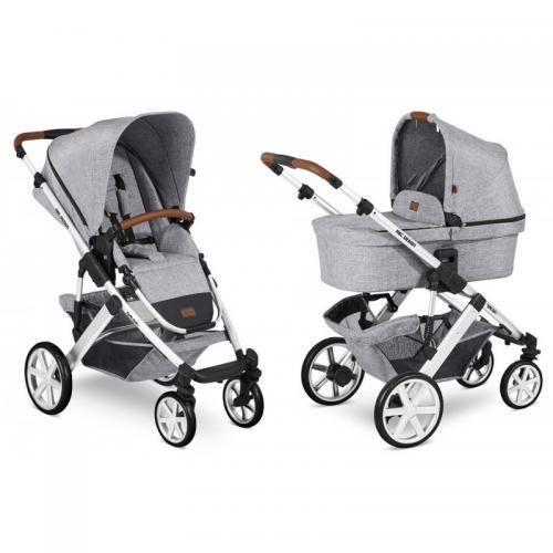 Carucior 2 in 1 Salsa 4 Graphite Grey ABC Design 2020 - Carucior bebe - Carucioare 2 in 1