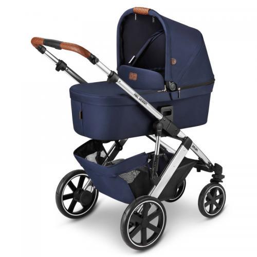 Carucior 2 in 1 Salsa 4 Navy Fashion ABC Design 2021 - Carucior bebe - Carucioare 2 in 1