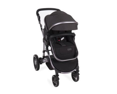 Carucior 3 in 1 cu suspensii Dora Dark Grey - Carucior bebe - Carucioare 3 in 1