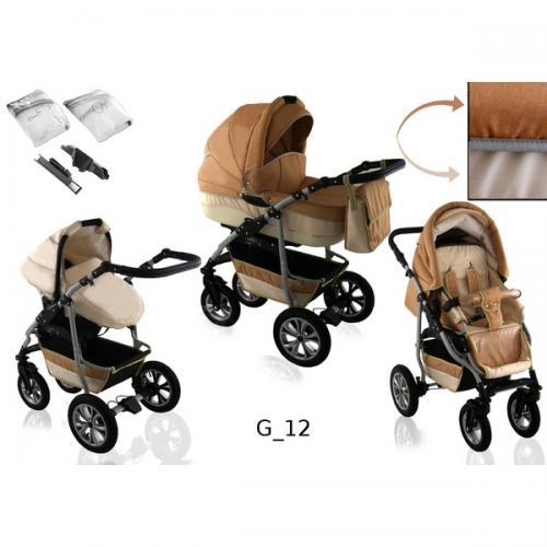 Carucior 3 in 1 krasnal citygo g12 - Carucior bebe - Carucioare 3 in 1