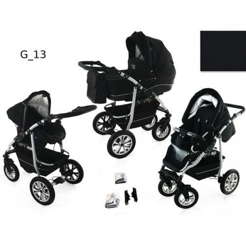Carucior 3 in 1 krasnal citygo g13 - Carucior bebe - Carucioare 3 in 1