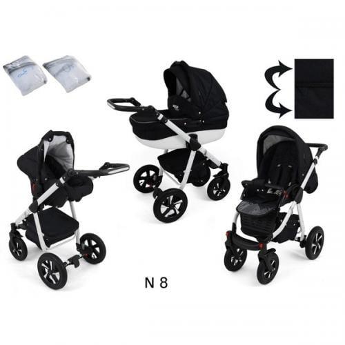 Carucior 3 in 1 krasnal nexxo n8 - Carucior bebe - Carucioare 3 in 1