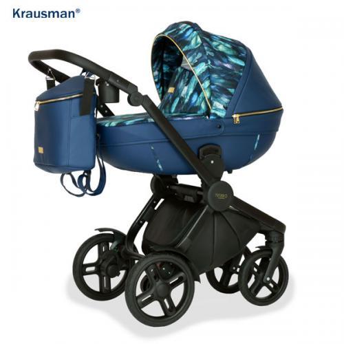 Carucior 3 in 1 Topaz Lux Dark Blue LIMITED - Carucior bebe - Carucioare 3 in 1