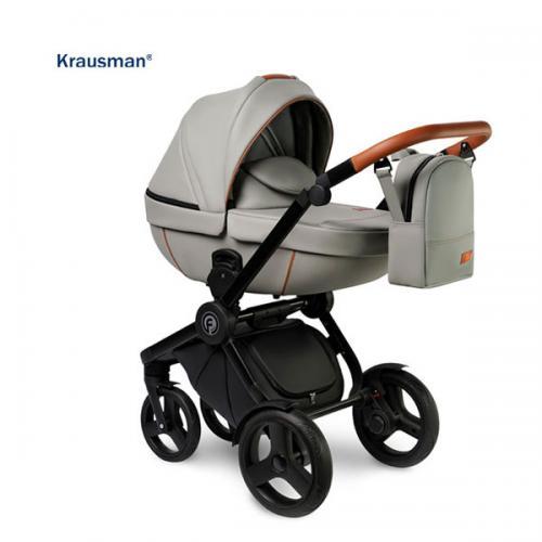 Carucior 3 in 1 Topaz Lux Grey - Carucior bebe - Carucioare 3 in 1