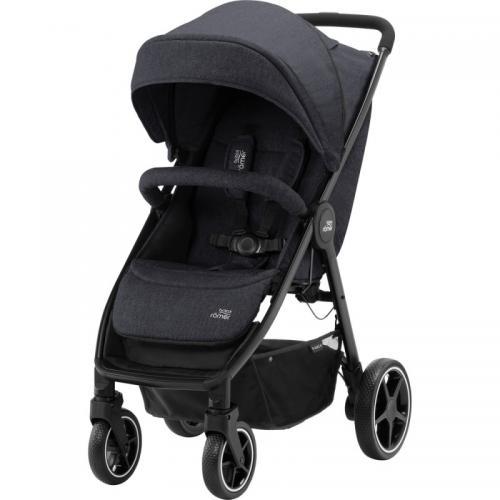Carucior B-Agile 4 M Black Shadow- Britax - Carucior bebe - Carucioare sport