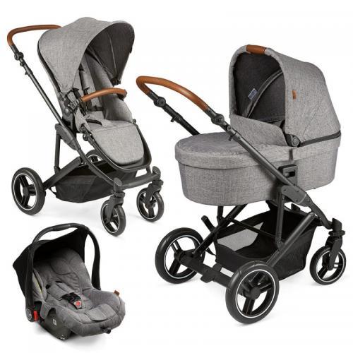 Carucior Catania 4 Set woven graphite - Circle by ABC Design 2021 - Carucior bebe - Carucioare 3 in 1