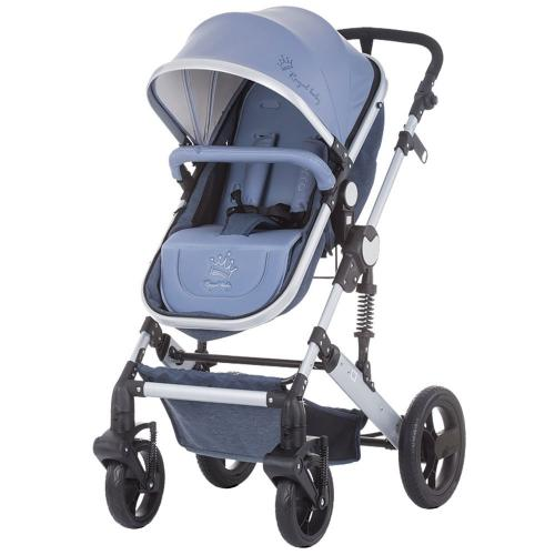 Carucior Chipolino Terra blue linen - Carucior bebe -