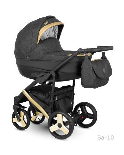 Carucior copii 2 in 1 Baleo Shine 2019 Camarelo BaS-10 - Carucior bebe - Carucioare 2 in 1