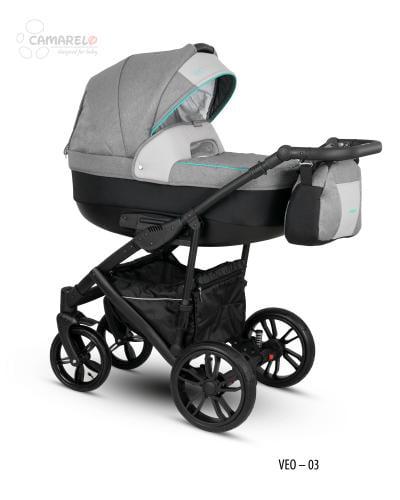 Carucior copii 2 in 1 Veo Camarelo Veo-3 - Carucior bebe - Carucioare 2 in 1