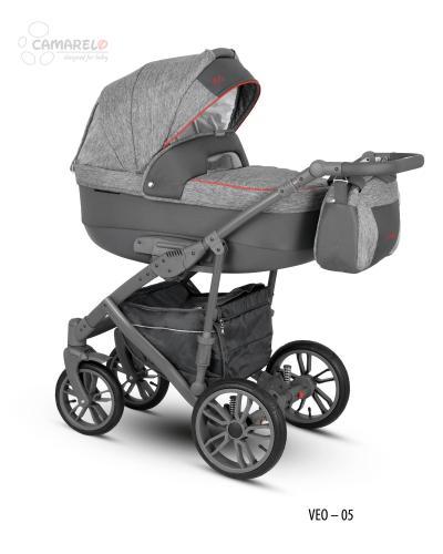 Carucior copii 2 in 1 Veo Camarelo Veo-5 - Carucior bebe - Carucioare 2 in 1