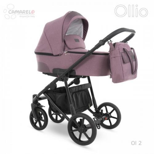 Carucior copii 3 in 1 Ollio Camarelo Ol-2 - Carucior bebe - Carucioare 3 in 1