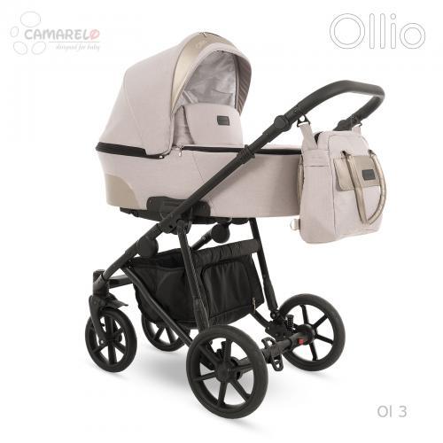 Carucior copii 3 in 1 Ollio Camarelo Ol-3 - Carucior bebe - Carucioare 3 in 1