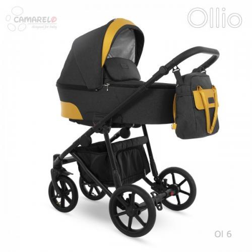 Carucior copii 3 in 1 Ollio Camarelo Ol-6 - Carucior bebe - Carucioare 3 in 1