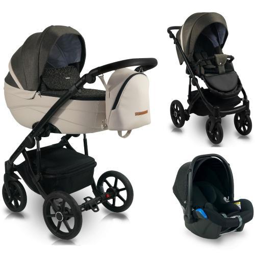 Carucior copii 3 in 1 - reversibil - 0-36 luni - bexa ideal 2020 amoled - Carucior bebe -