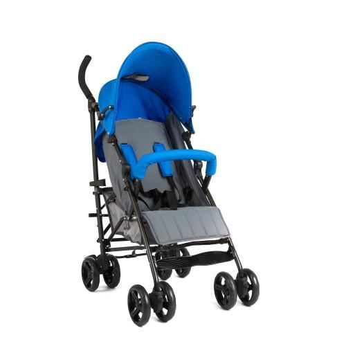 Carucior Juju Little Traveler - Albastru-Gri - Carucior bebe - Carucioare sport