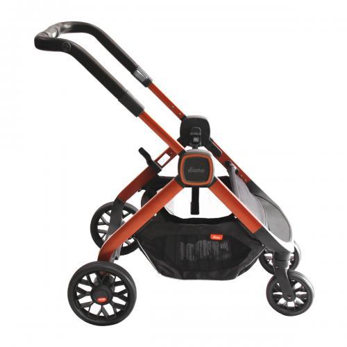 Carucior Quantum 2 Premium Orange Facet - Carucior bebe -