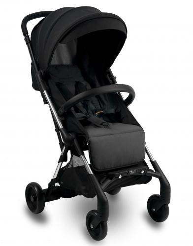 Carucior sport compact ibebe mini mi1 negru cu frana automata si led - Carucior bebe - Carucioare sport