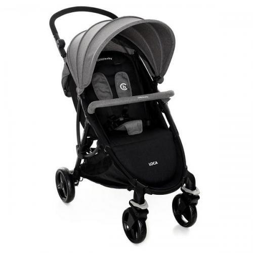 Carucior sport coto baby loca grey - Carucior bebe - Carucioare sport