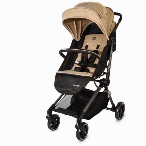 Carucior ultracompact Coccolle Monara Bej - Carucior bebe - Carucioare sport