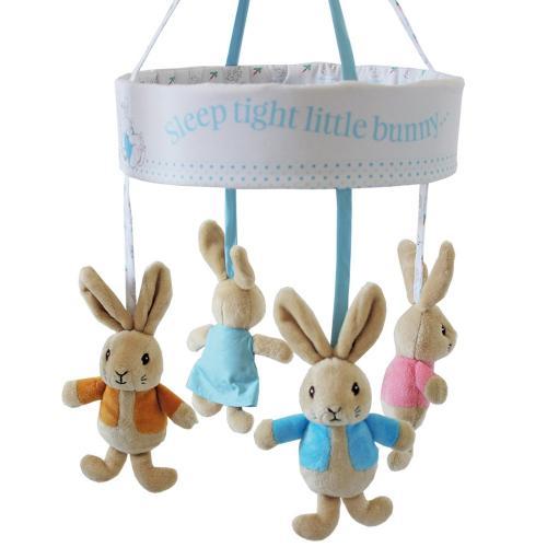 Carusel muzical pentru patut - peter rabbit - Carusele muzicale -