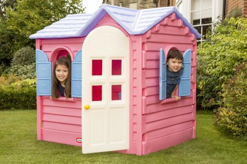 Casuta De Vacanta - Roz - Jucarii exterior - Casuta copii